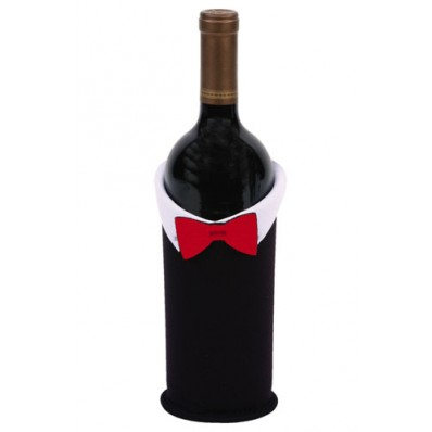 Groom Wine Bottle Jacket