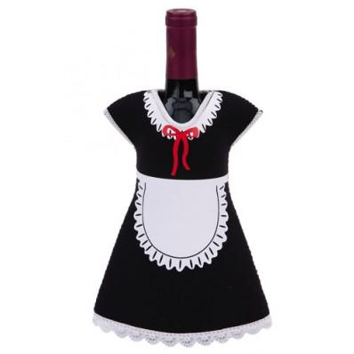 Maid Wine Bottle Jacket