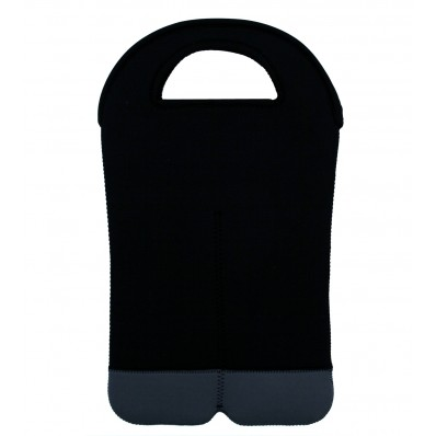 Double Bottle Wine Neoprene Bag