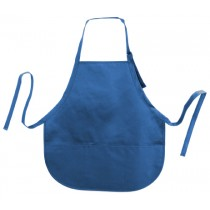 "Adjustable Metal Buckle 3 Round Pockets Apron-22"" W x 24"" H"