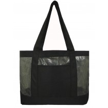 Fashion Mesh Tote Bag