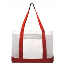 Mesh Work Tote Bag