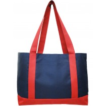 Intersected Shoulder Tote Bag