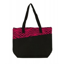 Colors Zebra Stripes Tote Bag