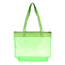 PVC Colorful Clear Tote Bag