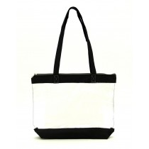Medium Size Clear Work Tote Bag