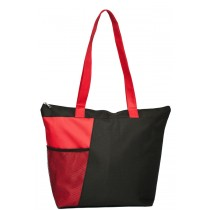Mesh Pocket Tote Bag