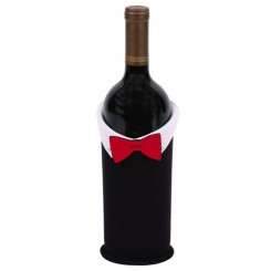 Groom Wine Bottle Jacket