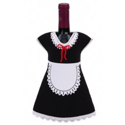 Maid Wine Bottle Jacket