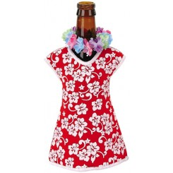 Hawaiian Girl Beer Bottle Jacket