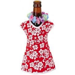 Hawaiian Girl Beer Bottle Jacket