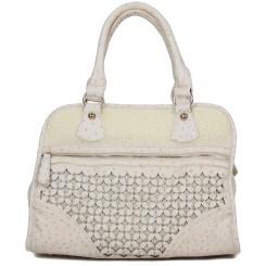 Daisy Flower Field Handbag-Front