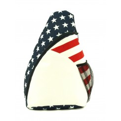 Patriotic Deluxe Sling Backpack